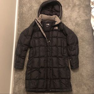 North Face 600 Down knee length puffer